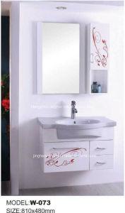 PVC浴室用キャビネットのSanitarywareの浴室(W-073)