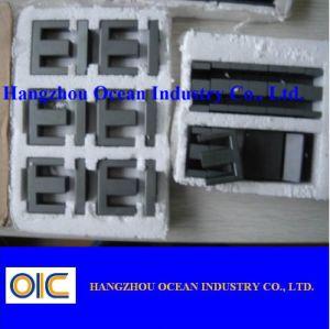Noyau de ferrite E-I de transformateur à haute fréquence