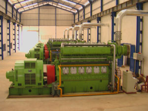 комплект генератора 1mw Hfo (электростанция HFO)