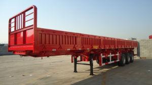Aanhangwagen van de Vrachtwagen van de Zijgevel van de tri-Bijl van het nut de Semi