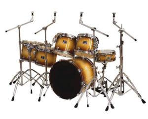 Conjunto de bateria 6 PCS / Drum Kit Basswood (DP2261)