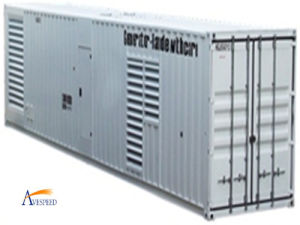 Трехфазное 400V/50Hz/1500rpm/520kw Containerized Style Diesel Generator Set