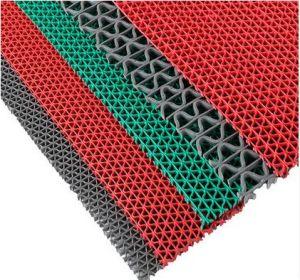 Couvre-tapis de plancher de serpent de PVC, couvre-tapis creux de PVC, couvre-tapis de S