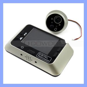 3.5inch Door Bell Camera Digital Peephole Viewer Video Door Bell (DB-01)