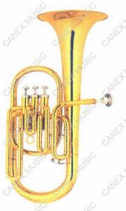 Instruments en laiton de klaxon de klaxon/alto (AH32B-L)