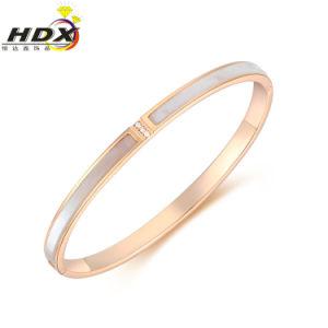 Pulsera joyería de moda de acero inoxidable y brazalete para la decoración (hdx1030)