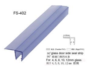 Selos magnéticos do PVC para a porta do chuveiro de 90/180 de grau (FS-403)