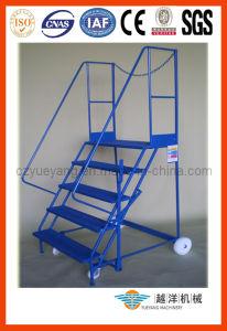 Mobile de aço Platform Ladder para Order Picker