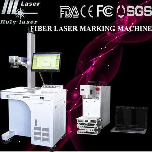 Machine à grande vitesse économique d'inscription de laser de fibre (HS GQ-10W)