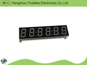 Affichage de l'horloge à LED Segment à sept chiffres de 6,91 pouces (WD03961-A / B)