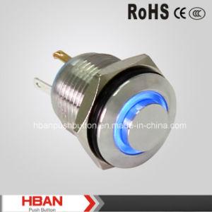 16mm brass moment nea pulsador con anillo de luz led - Pulsadores de luz ...