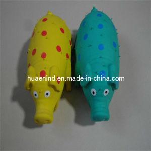 Hundegroßhandelslatex-Schwein-Spielzeug, Haustier-Spielzeug