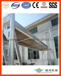 Sistema de alumínio do andaime da fachada de Layher com qualidade superior