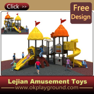 2014 enfants Spiral Glisser Backyard Playground Conception