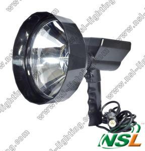 projecteur extérieur CACHÉ par diamètre d'objectif de 35With55W 240mm, lumière rechargeable de recherche de chasse