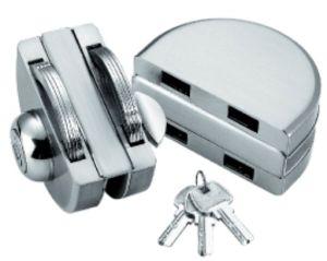 Porta de vidro Bloqueio central para porta deslizante de vidro duplo (FS-224)