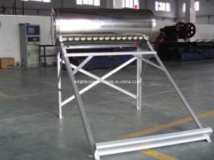 Calentador solar del tubo del vacío del acero inoxidable de la presión
