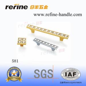 Traitement en alliage de zinc de traction de matériel de meubles (Z-581)