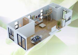 Huis van de container van 20ft het slaapzaal geprefabriceerde huis van de container van 20ft - Huis in containers ...