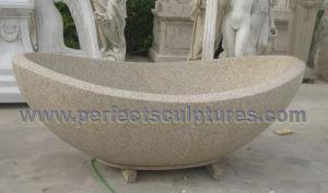 vasca da bagno di marmo di pietra della stanza da bagno del granito qbn074