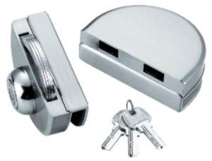 Bloqueio de porta deslizante duplo de vidro (FS-242)