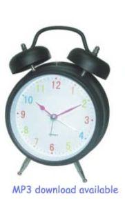 Horloge d'alarme MP3 (MP3-50)