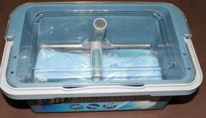 Пластичная резцовая коробка чистки (CW01001)