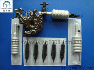 Jetable combinée Tattoo Needle et réutilisable aluminium poignées de tatouage (TC-RL)