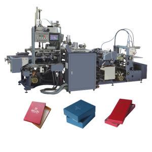 De volledige Automatische Stijve Machine van de Doos zonder het Kleven van de Hoek Machine