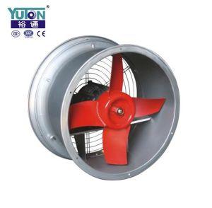 Ventilateur d'extraction axial de conduit industriel à faible bruit