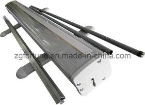 Plastic normal Steel Roll acima de Banner Stand (FYY-SG-1)