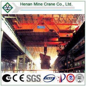 Acería Industry Harsh Work Foundry Bridge Crane con Ladle Hook