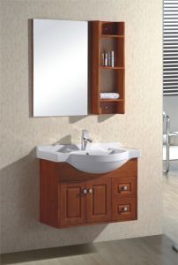 ShowerのセリウムCertificate (803)のためのカシBathroom Cabinet Sanitaryware