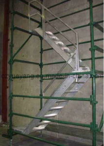 Escada modular do andaime do Sistema-Alumínio do andaime de Austrália Kwikstage