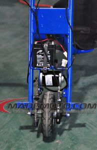 세발자전거를 미끄러지는 3개의 바퀴 전기 편류 Trike가 250W 36V 리튬 건전지에 의하여 농담을 한다