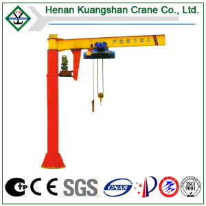 Suelo - Crane montado, Slewing Jib Crane, Column Jib Crane