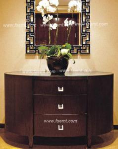 Pièce moderne de meubles de chambre à coucher d'hôtel d'étoile réglée (EMT-A1205)