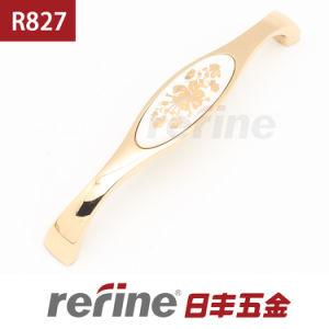 Poignée en alliage de zinc en céramique de Cabinet de nouvelle conception (R-827)