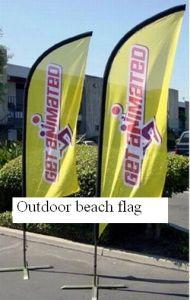 Bandeira de praia da injeção da água