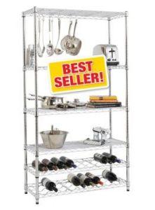 tag res commerciales de vin de cuisine en m tal. Black Bedroom Furniture Sets. Home Design Ideas