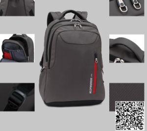 gris sac dos pour homme 17 pouces pour ordinateur. Black Bedroom Furniture Sets. Home Design Ideas