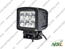 60W Highpower Top Bright LED Work Light (NSL-6006S-60W) Spot ou Flood Beam LED Driving Light