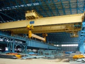 Beam doble Revolving Trolley Electromagnetic Bridge Crane con Low Price