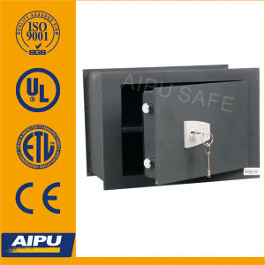 Double Bitted Key Lock Wall Safe avec 3mm Body, 8mm Door (WS0811K257-01)