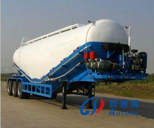 45m3 de bulkAanhangwagen van de Vrachtwagen van de Tank van de Silo van het Cement Semi (LAT9405GFL)