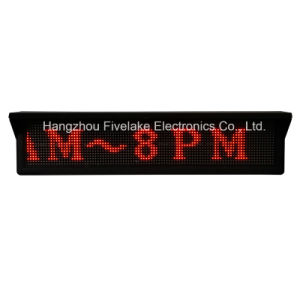 Afficheur LED de Single Red de qualité (panneau 16DOT*96DOT d'affichage à LED de Bus)