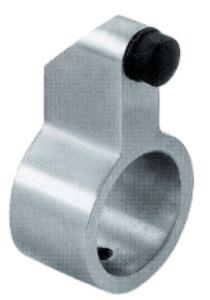Tapón de cristal de la puerta de vidrio de desplazamiento del acero inoxidable (FS-814)
