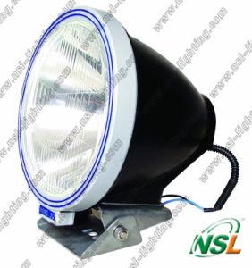 9inch 55W HID Working Light Lamp, Flood/Spot Beam 4X4 Xenon HID Driving Lumière-bleu et Silver (NSL-4500)