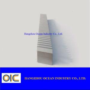 Crémaillère en acier hélicoïdale de qualité