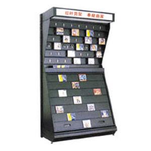 Display CD Rack Shelf pour les mémoires et le Supermarkets (HY-21)